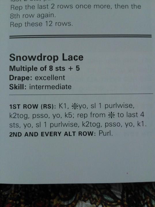 Snowdrop Lace 1