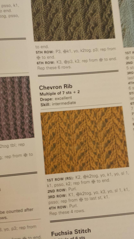 Chevron Rib
