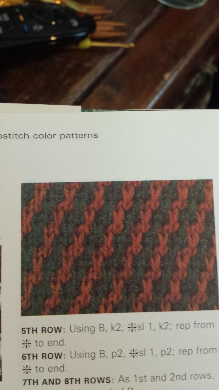 Steep Diagonal Stripes