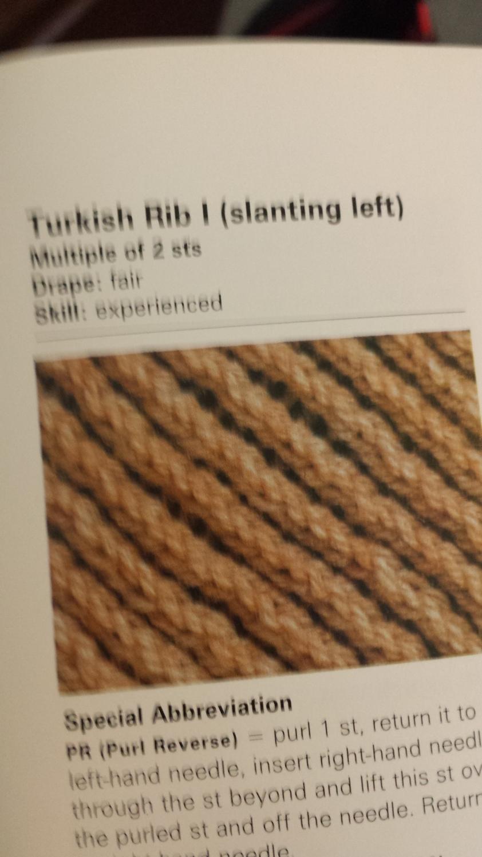 Turkish Rib Left